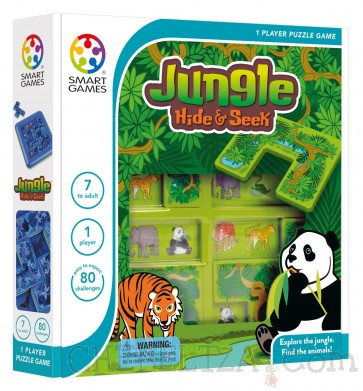 Smart Games, Džungla - skrij in išči