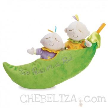 Mehak dojenček oz. punčka Snuggle Pods, Two Peas in a Pod