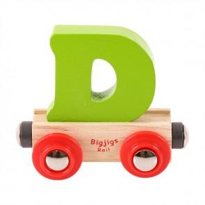 BigJigs, Vagonček s črko D
