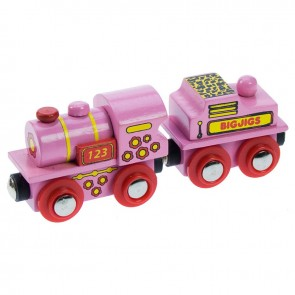 BigJigs, Rožnata lokomotiva