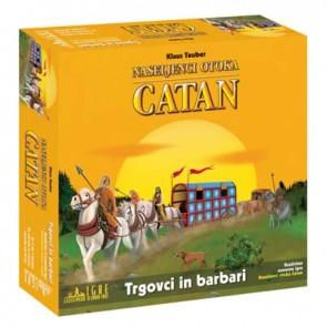 Družabna igra, Naseljenci otoka Catan - Trgovci in Barbari