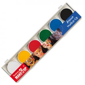 AquaColor Express - Komplet šestih otroških barv za obraz