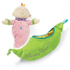 Mehak dojenček oz. punčka Snuggle Pods, Sweet Pea