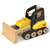 Velik lesen buldožer