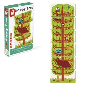 Janod, Družabna igra spomina Happy Tree