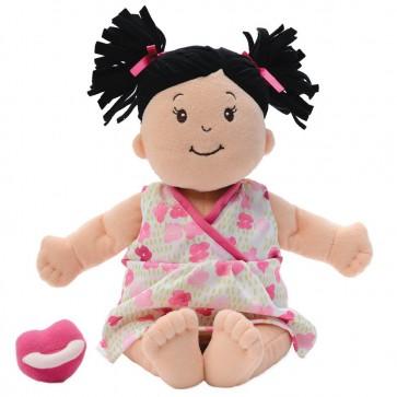 Baby Stella, bambola dai capelli neri