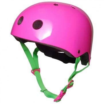 Kiddimoto, Otroška čelada - neon pink