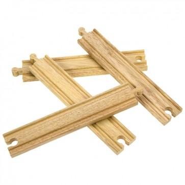 Dodatne ravne tračnice za lesene železniške proge
