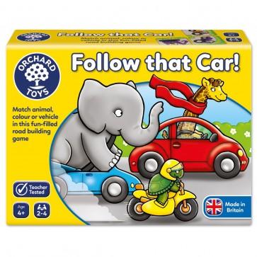 Društvena igra, Prati taj auto!
