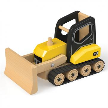 Veliki drveni buldožer