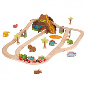 BigJigs, Lesena železniška proga z Dinozavri