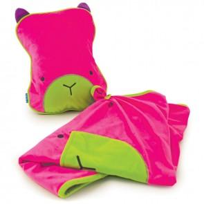 Dječji jastuk sa dekom SnooziHedz - roza