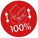 100% kompatibilno s kockami vodilnih proizvajalcev