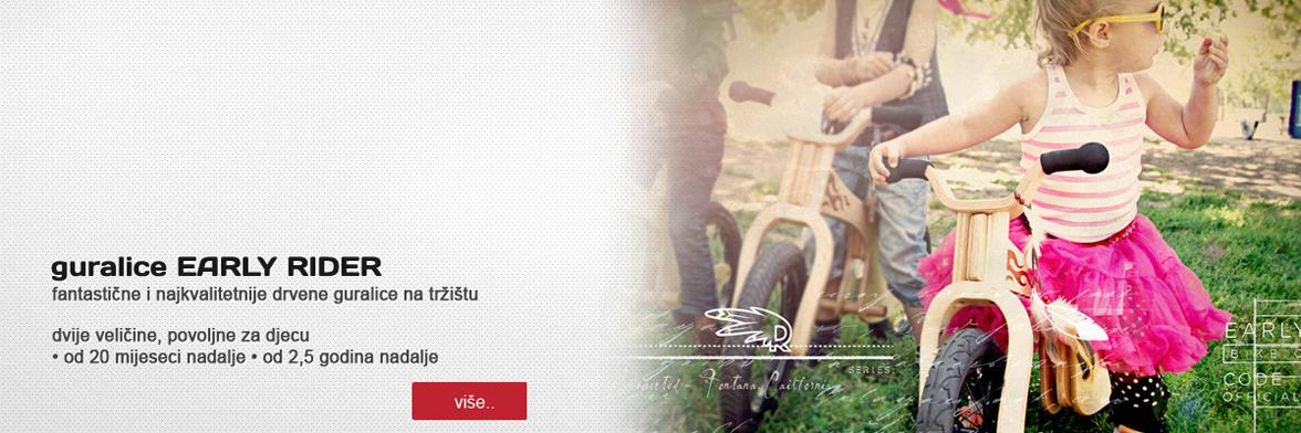 Dječja trgovina Pchelica.com - drvene guralice Early Rider